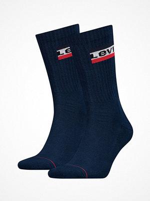 Strumpor - Levi's 2-pack 120SF Sportswear Regular Cut Socks Darkblue