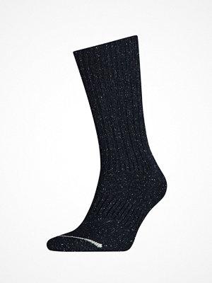 Strumpor - Levi's 084LS Regular Cut Wool Silk Socks Darkblue