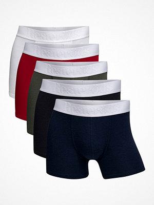 Resteröds 5-pack Gunnar Bamboo Boxer Multi-colour