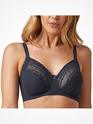 Abecita Tailor Wireless Bra Darkgrey