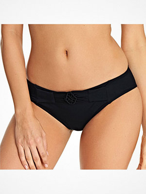 Freya Macrame Bikini Brief Black