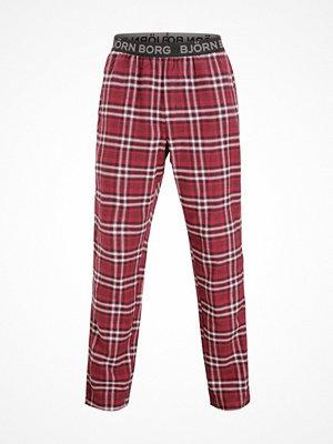Pyjamas & myskläder - Björn Borg Check Pyjama Pant Red Pattern-2