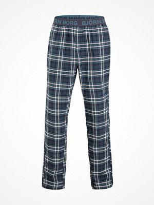 Pyjamas & myskläder - Björn Borg Check Pyjama Pant Blue Pattern