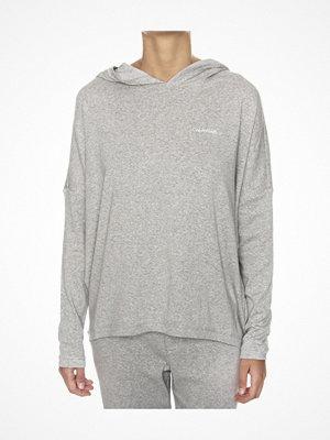Pyjamas & myskläder - Calvin Klein Form LS Hoodie Grey