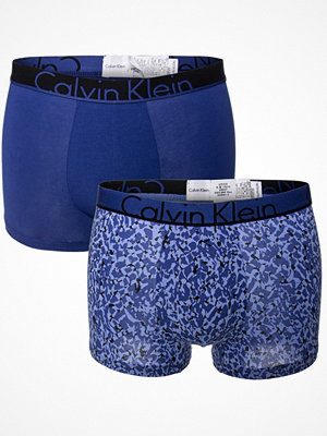 Calvin Klein 2-pack ID Cotton Trunks Royalblue
