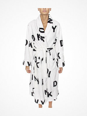 DKNY Self Titled Robe White