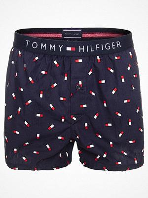 Tommy Hilfiger Cotton Icon Woven Boxer Mini Flag Blue Pattern