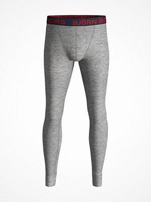 Björn Borg Solid Long Johns Grey