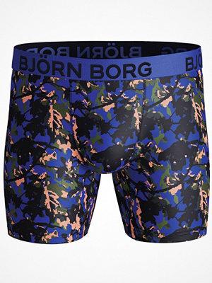 Björn Borg Performance Branch Shorts Blue Pattern