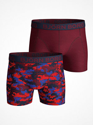 Björn Borg 2-pack Core NY Silhouette Shorts 1003 Red Pattern-2