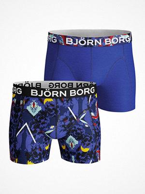 Björn Borg 2-pack Core Naito 2 S Shorts Blue Pattern