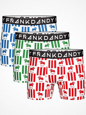 Frank Dandy 3-pack Milk Boxer White Pattern-2