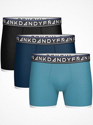 Frank Dandy 3-pack St Paul Bamboo Boxers Black/Blue