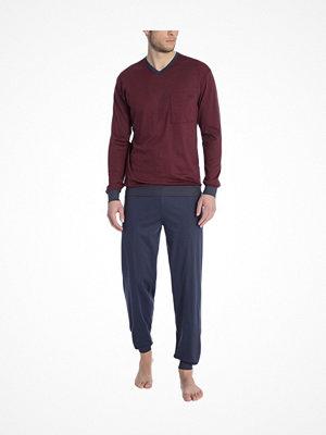 Pyjamas & myskläder - Calida Jamie Pyjama With Cuff Red
