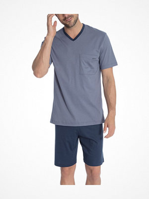 Calida Jamie Short Pyjama Blue