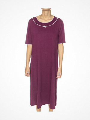 Nattlinnen - Trofé Trofe Nightdress Short Sleeve Lilac
