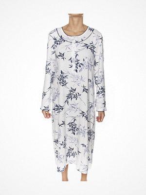 Trofé Trofe Nightdress Long Sleeve Navy pattern