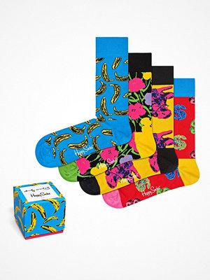 Strumpor - Happy Socks 4-pack Happy Socks Andy Warhol Sock Box Multi-colour