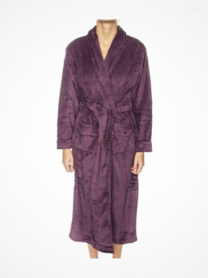 Morgonrockar - Missya Nira Fleece Robe Long Plum