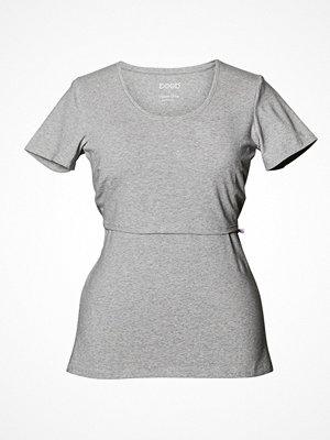Pyjamas & myskläder - Boob Nursing Short Sleeve  Light grey