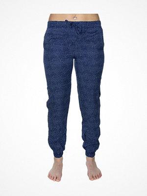 Pyjamas & myskläder - Calvin Klein Woven Viscose Jogger Blue Pattern