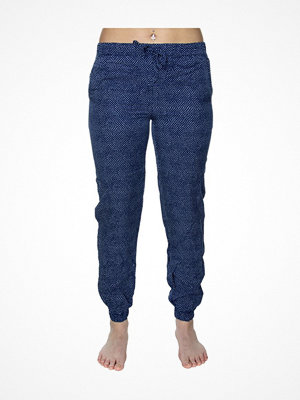Calvin Klein Woven Viscose Jogger Blue Pattern