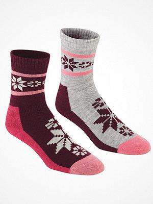 Strumpor - Kari Traa 2-pack Rusa Wool Sock Lilac