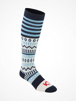 Kari Traa Åkle Sock Navy pattern
