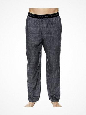 Calvin Klein Flannel Sleepwear Sleep Pant Blue Pattern