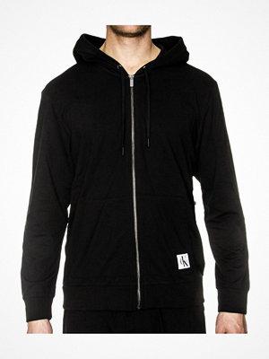 Calvin Klein Monogram Full Zip Hoodie Black