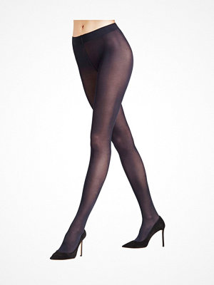 Falke Women Seidenglatt 40 Den Tights Navy-2