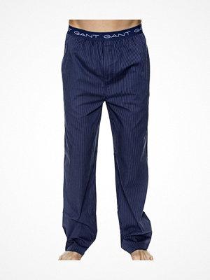 Pyjamas & myskläder - Gant Woven Cotton Pyjama Pant Blue