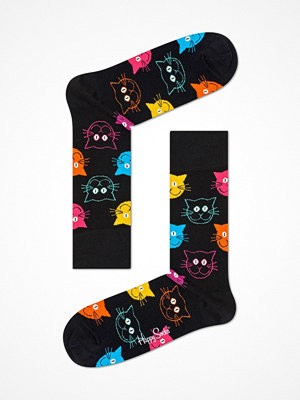 Happy Socks Happy Socks Cat Sock Black pattern-2