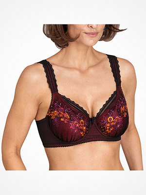 Miss Mary of Sweden Miss Mary Floral Sun Underwire Bra  Red