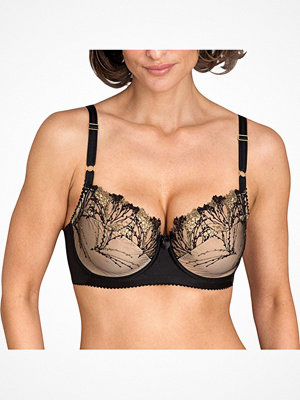 Miss Mary of Sweden Miss Mary Shimmer Frost Underwire Bra  Black