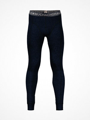Muchachomalo Cotton Modal Long John Darkblue