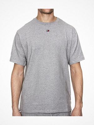 Pyjamas & myskläder - Tommy Hilfiger Flag Core Jersey CN Tee SS Grey