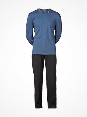 Pyjamas & myskläder - JBS Långärmad Pyjamas 130 Blue