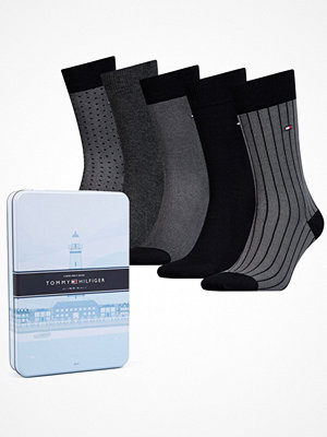 Tommy Hilfiger 5-pack Men Sock Birdeye Box Black