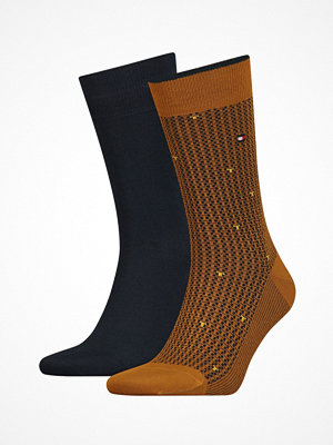 Tommy Hilfiger 2-pack Men Allover Pop Sock Mustard