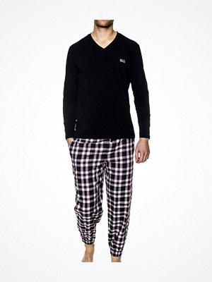 Pyjamas & myskläder - Hugo Boss BOSS Dynamic Long Set Blue