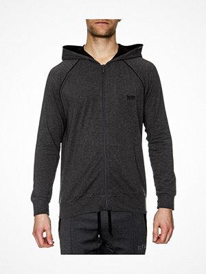 Pyjamas & myskläder - Hugo Boss BOSS Mix and Match Jacket Hooded Grey