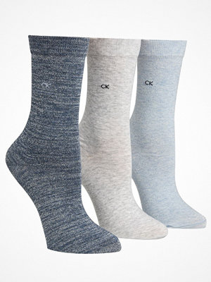 Calvin Klein 3-pack Holiday Sparkle Crew Gift Box Blue/Grey