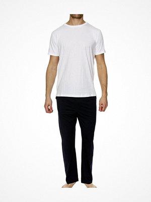Pyjamas & myskläder - Tommy Hilfiger Premium Essentials CN Set SS White/Navy