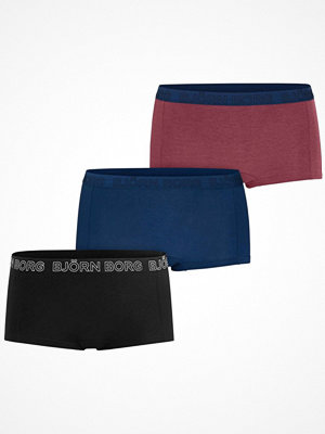 Björn Borg 3-pack Core Tencel Minishorts Black/Blue