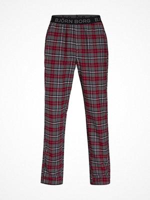 Pyjamas & myskläder - Björn Borg Winter Check Pyjama Pant Red Pattern-2