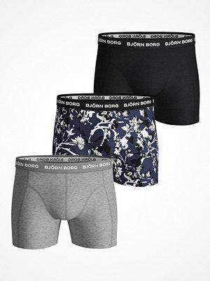Björn Borg 3-pack Essential Fleurs De Jardin Shorts Multi-colour