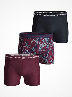 Björn Borg 3-pack Essential Fleurs De Jardin Shorts Pattern-2