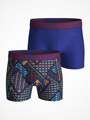 Björn Borg 2-pack Le Louvre Shorts Blue/Red
