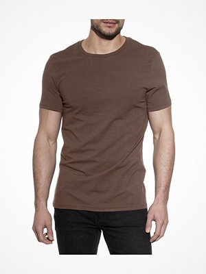 Bread and Boxers Crew Neck  Brown